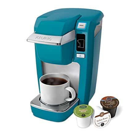 the keurig k10 mini plus comes in lots of nice colors