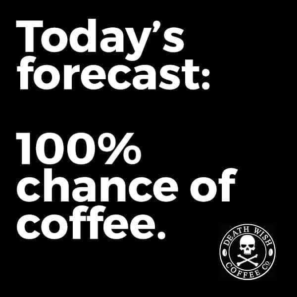 Coffee weather forecast