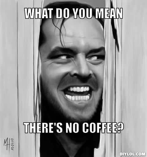the shining coffee
