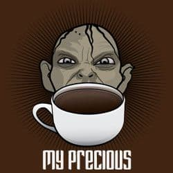 gollum coffee lord of the rings