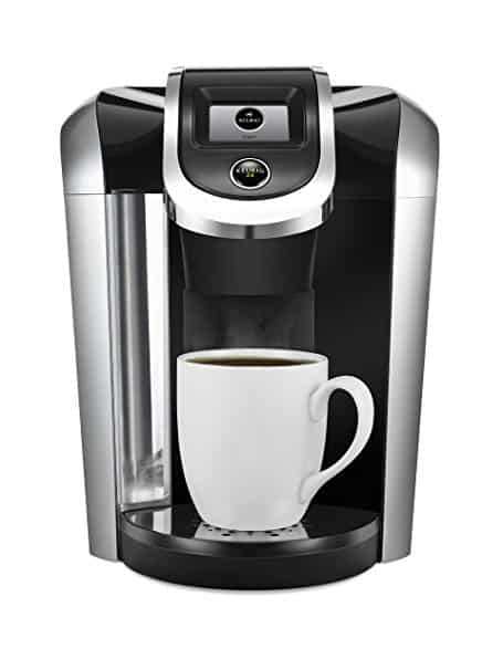 the keurig k450 ready to brew