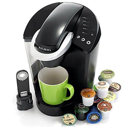 you can brew so many different beverages with the keurig k45 elite!