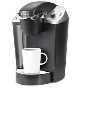 keurig b140 with a white mug
