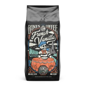 french vanilla coffee by bones