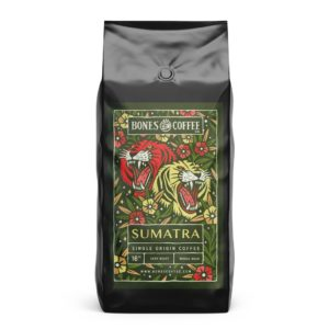 sumatra coffee by bones
