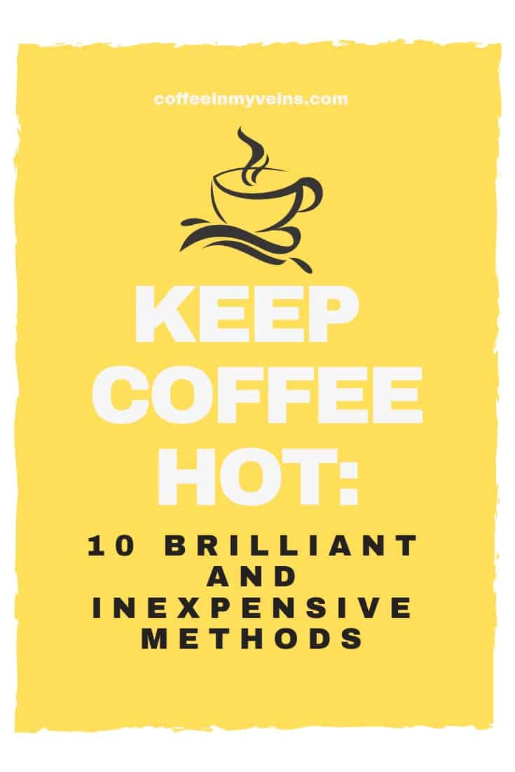 keep coffee hot pin