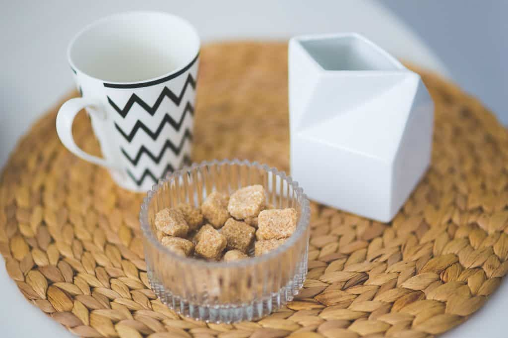 brown sugar cubes are commonly enjoyed with coffee as a way to make it more palatable if your taste buds have not quite gotten used to coffee yet.