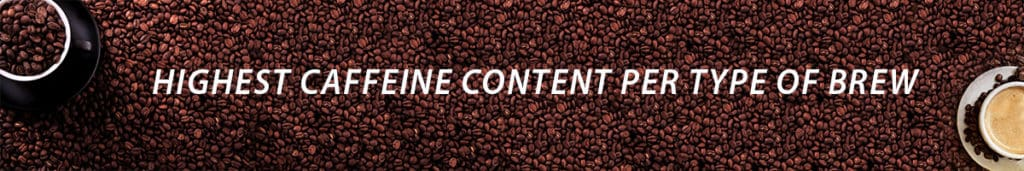 how does brewing affect caffeine content