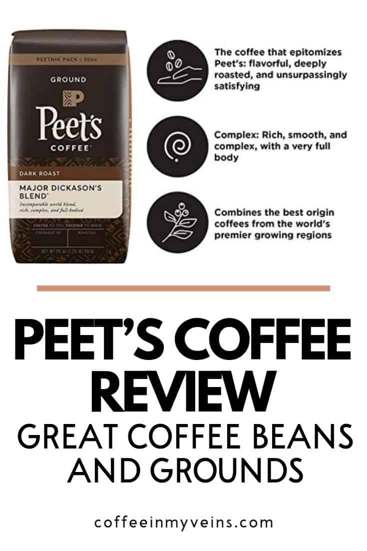 peets coffee pin
