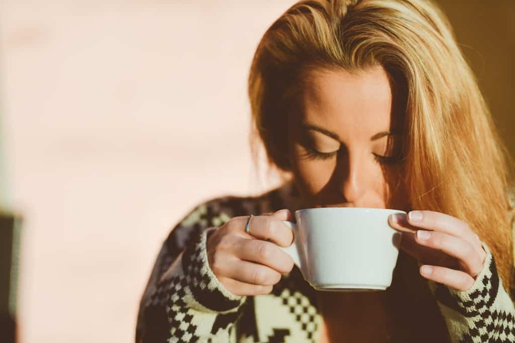 smelling coffee is a big part of being a connoisseur