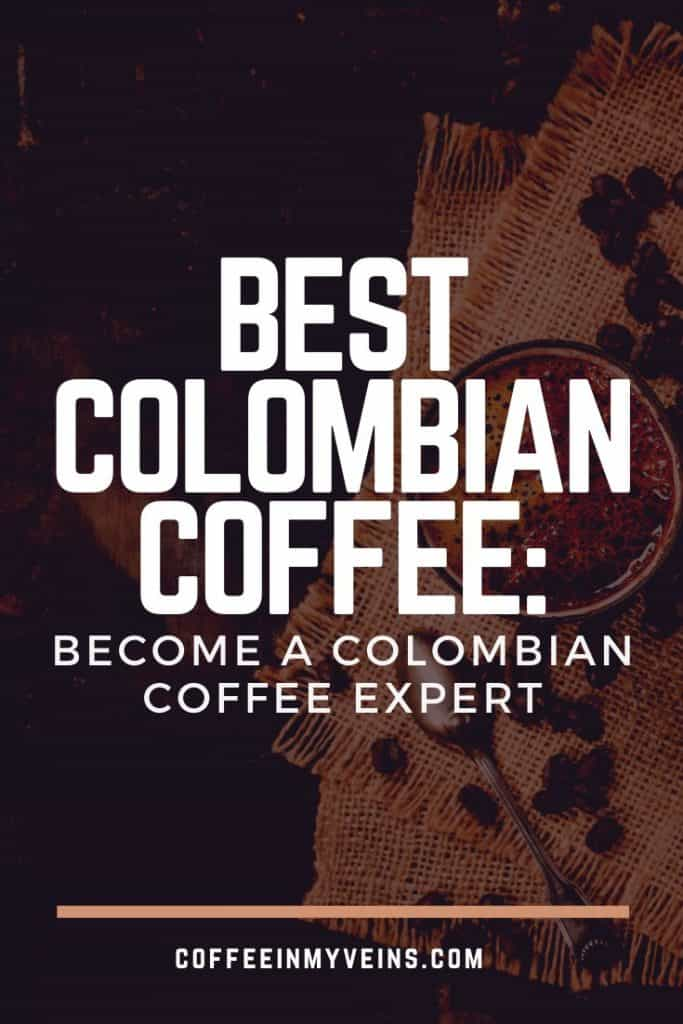best colombian coffee pin